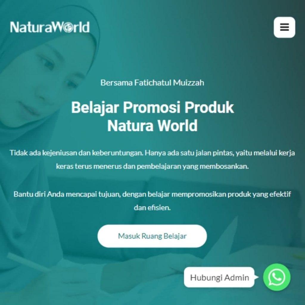 Cara Promosi Produk Natura World